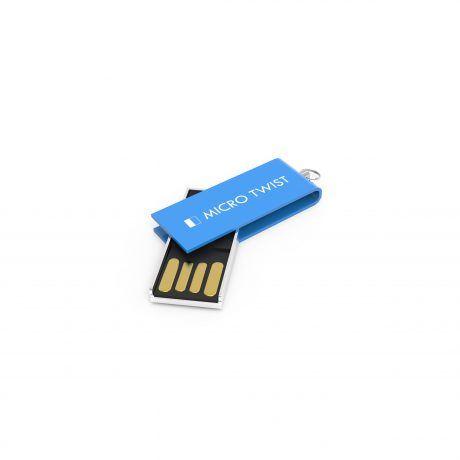 Micro Twist-cobalt blue-gravure
